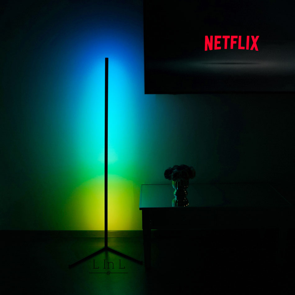 Sindra lamp colorful with Netflix 7